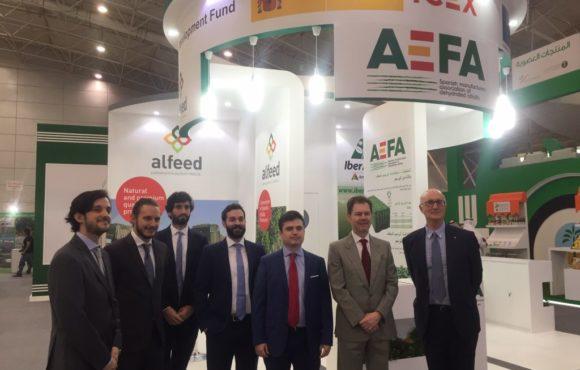 AEFA recibe la visita del embajador de España en Arabia Saudí durante la feria Saudi Agriculture 2019